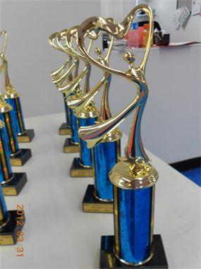 1st Anniversary Recital Trophies